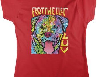 Rottweiler Luv, Love my Rottie Women's T-shirt, NOFO_01040