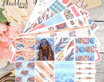 Bohemian Soul | Planner Sticker Kit for Erin Condren Vertical