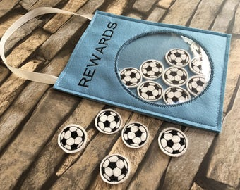 Reward hanger, behaviour chart, reward jar, football, reward chart, reward jar, wall hanger