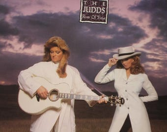 The Judds vinyl record album The Judds River Of Time vintage vinyl record