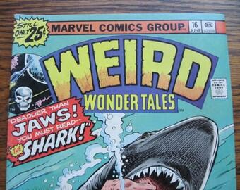Weird Wonder Tales comic, Vol. 1, No. 6, June 1976