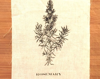 Rosemary Herb Patch
