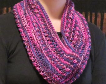 Very Berry Lace Cowl