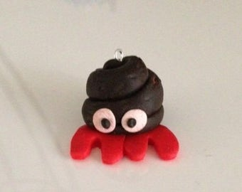 Hermit crab key ring