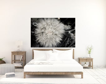 Nature Photography - Dandelion - Photography - Artwork - Home Decor - Photo - Wall Art - Fine Art Photography - Whispered Print