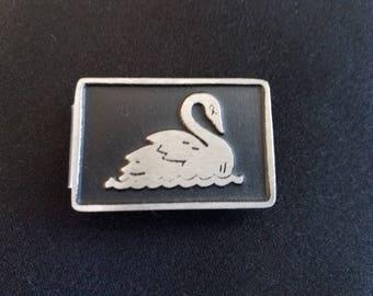 Swan Money Clip