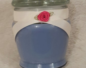 Blueberry Scented Soy Candle 10 fl oz Glass Container