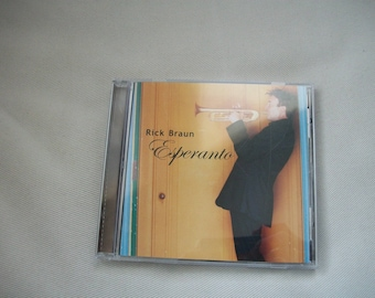 "Rick Braun ""Esperanto"" CD"