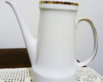 Vintage porcelain 50 years Caffèttiera/Porcelain coffee pot vintage 50s