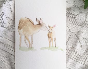A5 Doe and Fawn