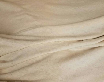 100% HEMP Jersey by the yard eco-friendly natural fiber 9-9.5oz per yard