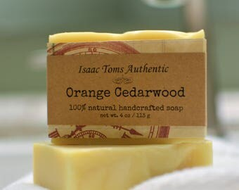 ORANGE CEDARWOOD SOAP