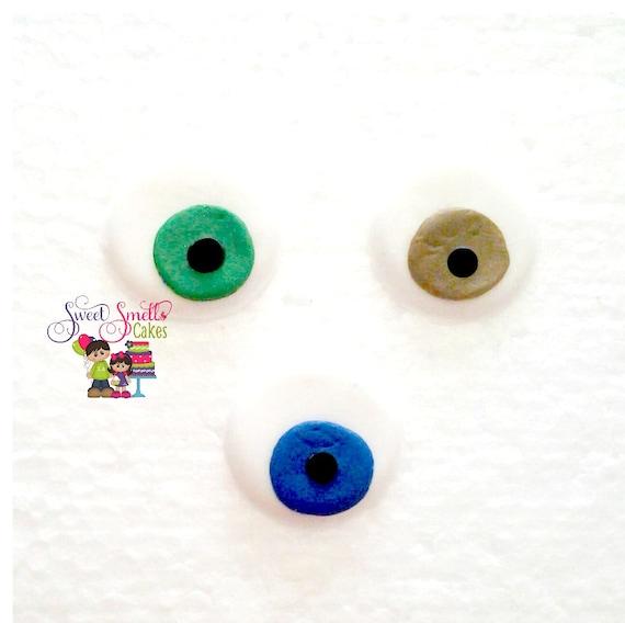 Cake Decoration Eyes : fondant eyes, edible toppers, cupcake toppers, cake ...
