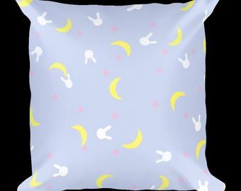 Sailor Moon Pillow, Sailor Moon, Usagi Tsukino, Rabbit, Cute Pillow, Kawaii, Anime, Magical Girl, Mahou Shoujo