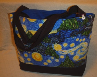 Van Gogh Starry Night tote