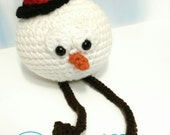 Nonochoux Frosty, Frosty snowman stuffed plush snow