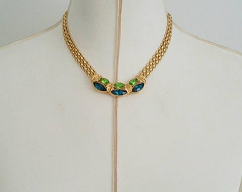 Vintage Art Deco Gold Necklace