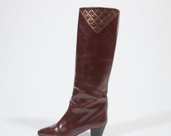 PANCALDI - leather boots