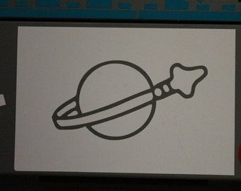 Lego Space Decal Any Size Any Colors