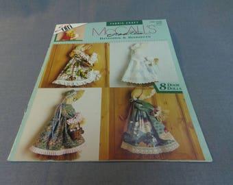 Door Doll Ornaments, Fabric Craft Patterns, Brooms and Bonnets, McCall's Creates, 1993 Seasonal Decor, Home Decor, Halloween Decor