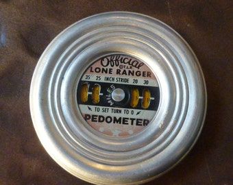 Vintage Lone Ranger Official Pedometer