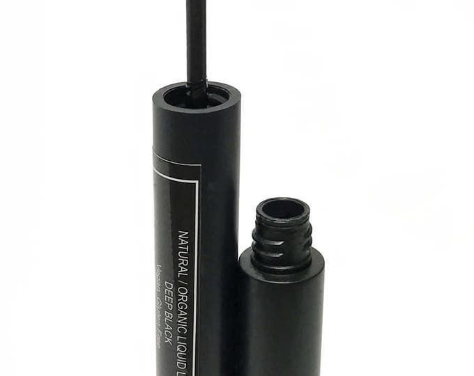 Vegan Makeup-Vegan Liquid EyeLiner, Organic Eyeliner, Black Vegan Eyeliner, Vegan EyeLiner, Organic liquid Eye Liner, Vegan Organic Eyeliner