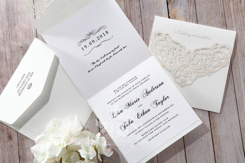 Wedding Invitation | Custom invitations | Unique invitations ...