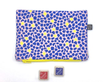 Pouch large with nicamo print clutch