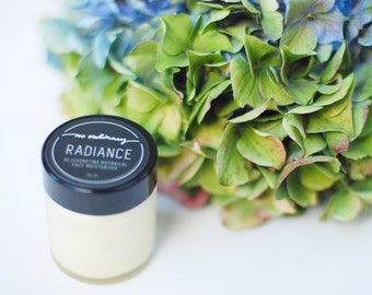 No Ordinary Radiance Rejuvenating Botanical Moisturiser 30ml, Raw Organic Shea, Antioxidant, Omega rich skincare, Normal/Combination Skin