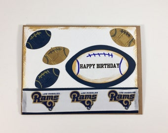 Los Angeles Rams,Los Angeles Rams card,Los Angeles Rams birthday,card of Los Angeles Rams fan,Los Angeles Rams Collectible,Rams