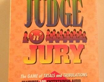 Vintage 1995 Judge N Jury game NOS New Old Stock