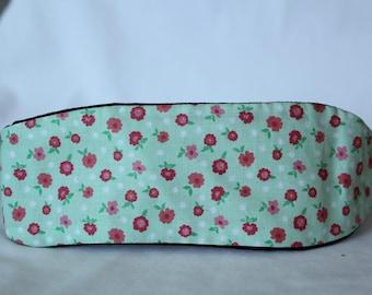 Mint & Red Floral Headband