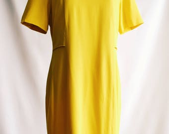 Dress yellow Burberrys