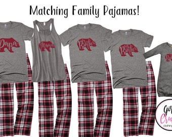 Matching Christmas Pajama Pants For Family