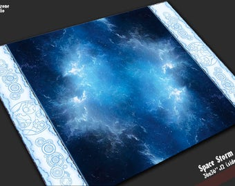 Battle mat:  Space Storm - space terrain for sci-fi miniature cosmos battleboard games Star Wars X-wing, Armada,  BFG Gothic