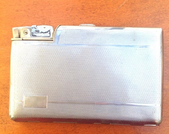 1950's Seigneur Cigarette Case and Lighter