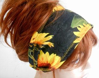 Headband Festival, Gypsy Headband, Bandana Scarf, Wide Headband, Flower Headband, Boho Headband, Turban Headband, Women Headband