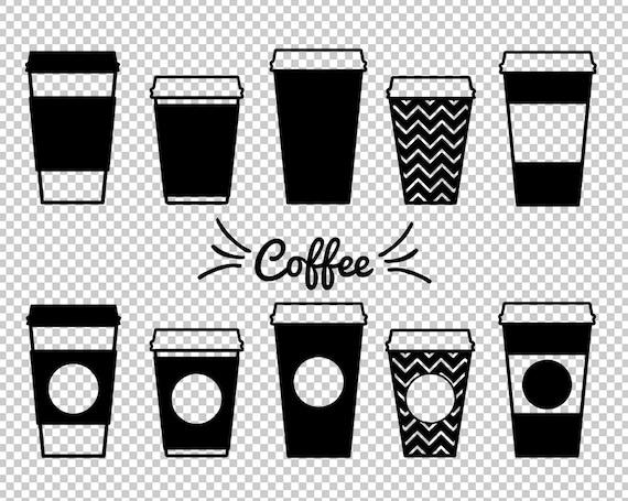 Coffee Mug Svg Dxf Paper Coffee Cups Clipart Coffee