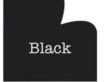 5 Foot Roll of Oracal 651 Adhesive Vinyl - Black Gloss #070