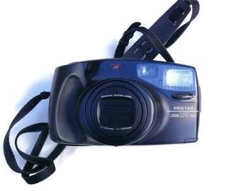 Pentax Zoom 105 Super, Vintage Camera, 35mm Camera, Pentax Camera, 35mm Film Camera, Vintage Pentax, Point And Shoot Camera