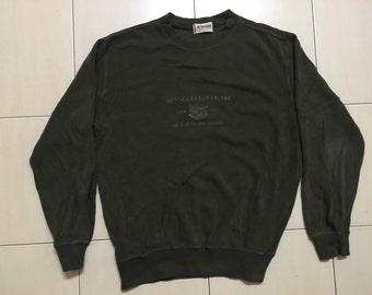 Vintage 90's Mc Gregor Sport Classic Design Skate Sweat Shirt Sweater Varsity Jacket Size L #A540