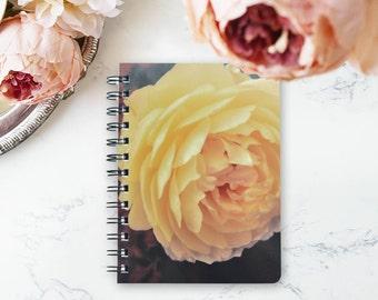 Rose Floral Wirebound Notebook