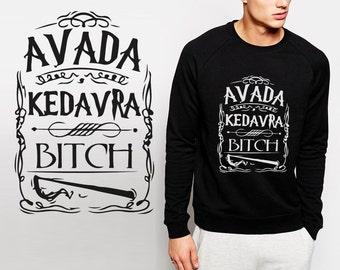 Harry Potter sweatshirt Avada Kedavra Unisex S - XXL