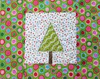 Christmas Tree Paper-Piecing Pattern (Downloadable)