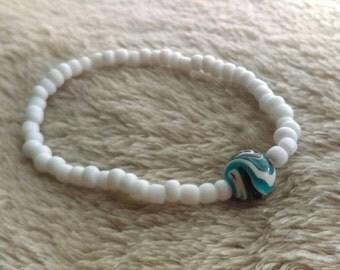 One of a kind bead bracelet