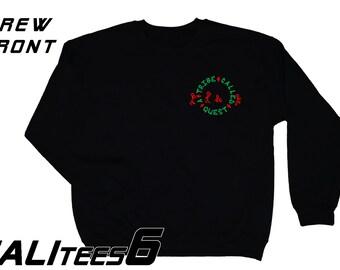 A Tribe Called Quest Crew Neck Sweatshirt - Old School Hip Hop - ATCQ