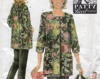 Simplicity pattern #4746 - Misses hobby coat, pants & bag - Patty Reed Designs
