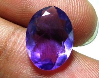 Purple Amethyst Gemstone Faceted Amethyst Size 10x14x5 mm,,Carat 3.65 PCT 1617