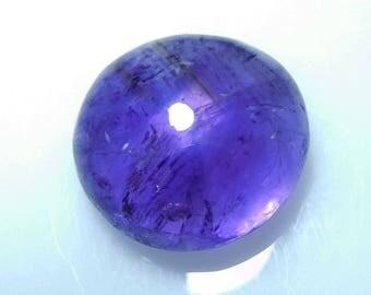 Amethyst Cab Gemstone,Amethyst Cabochon Round Shape Stone Carat 24.15 Size 19x19x9 mm,PCD 1639