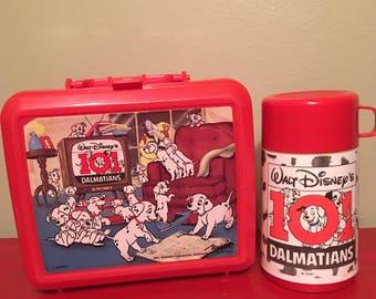 101 Dalmatians Red Lunchbox by Aladdin